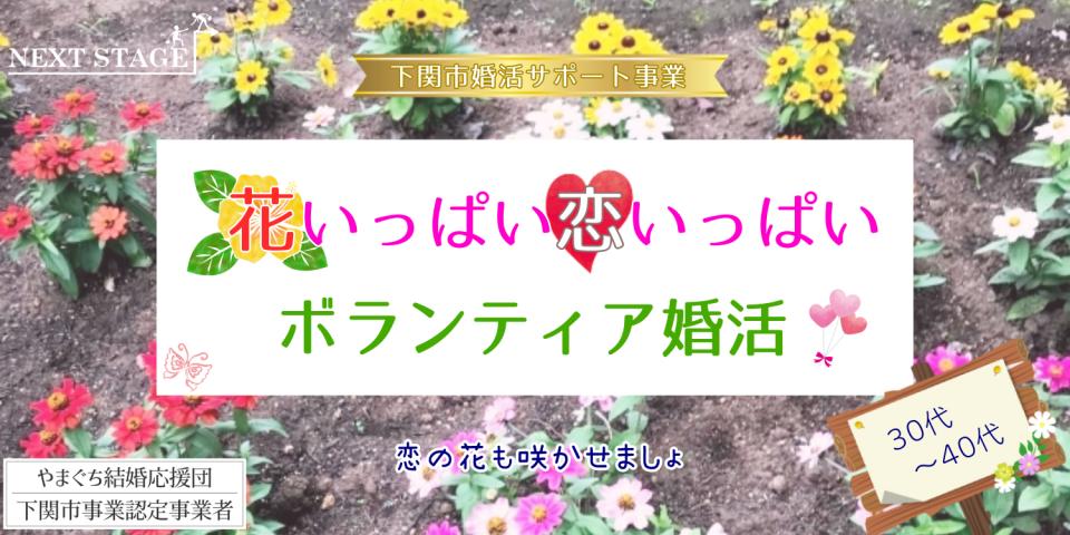 11/13(土)【30代40代】花いっぱい恋いっぱい♡ボランティア婚活